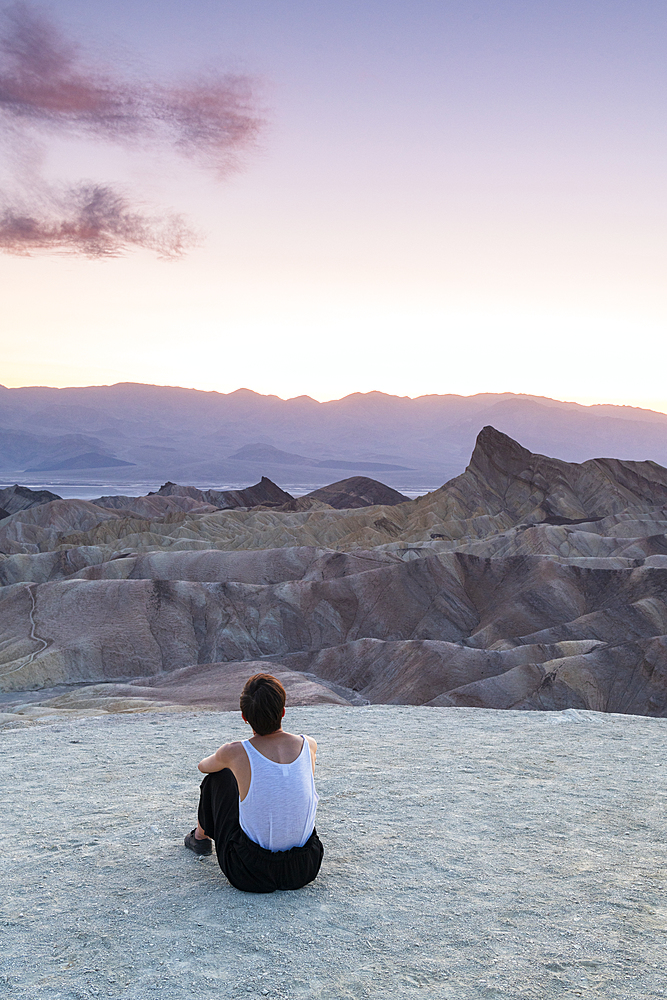 Zabriskie Point, Death Valley National Park, California, United States of America, North America - 1186-1134
