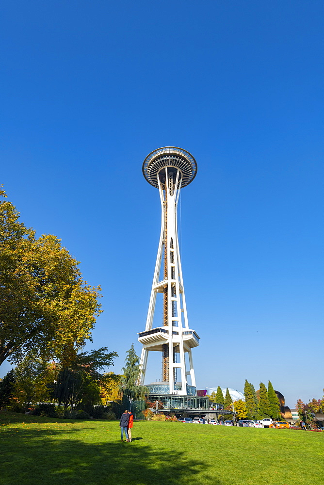 Space Needle, Seattle, Washington State, United States of America, North America