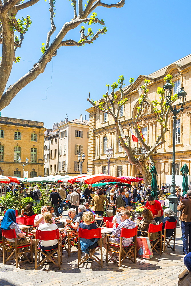 Aix en Provence, Bouches du Rhone, Provence, Provence-Alpes-Cote d'Azur, France, Europe