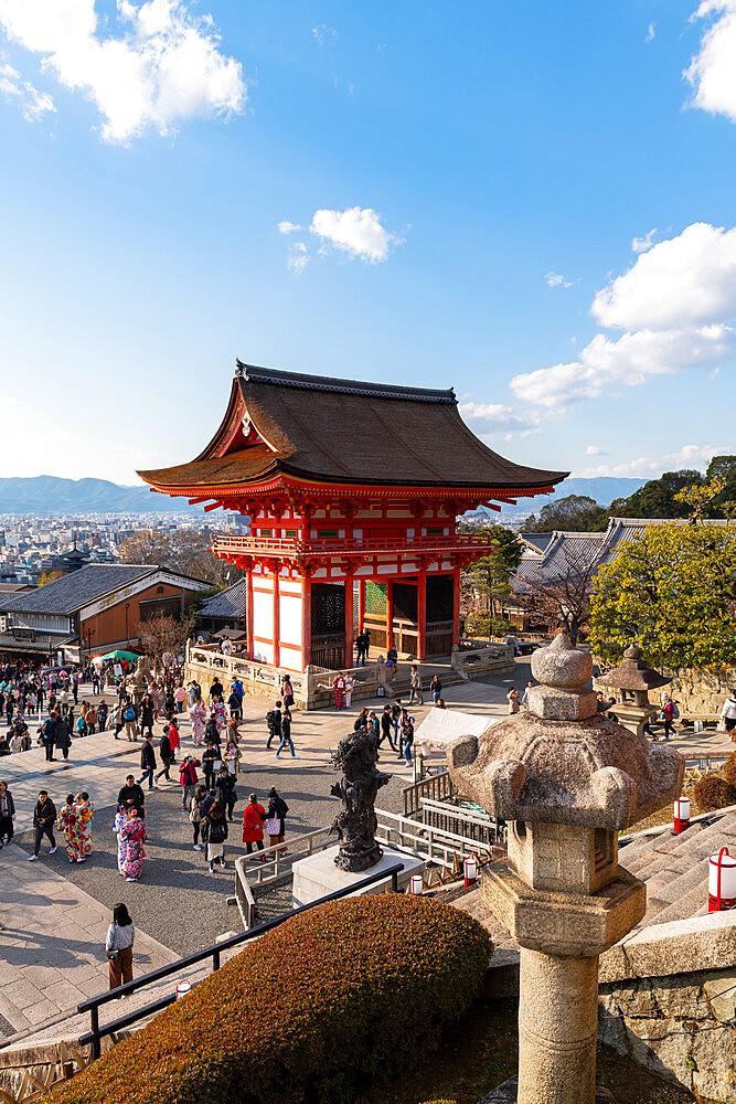 Kiyomizu-dera temple - 1186-806