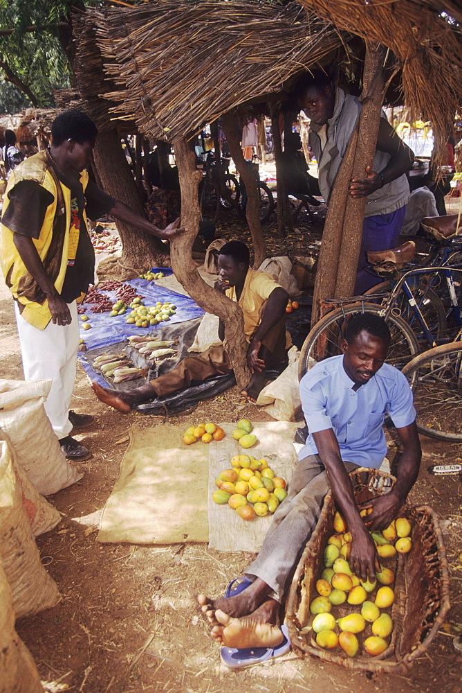 Market, burkina faso. Kalsaka village