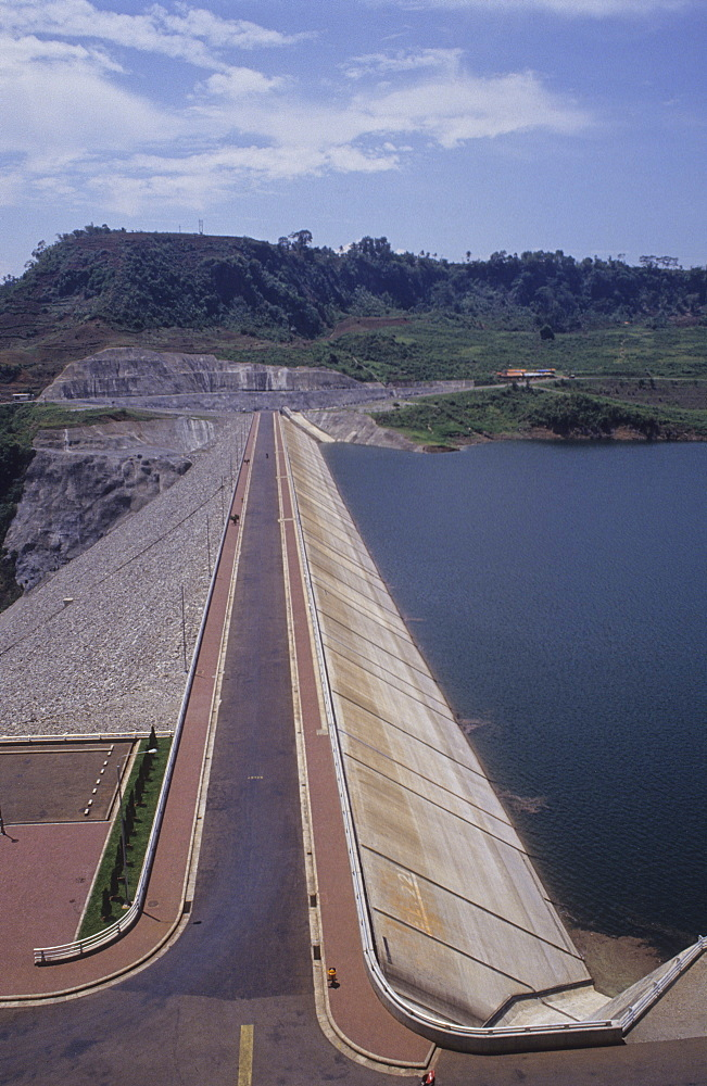 Hydro-electric dam, indonesia