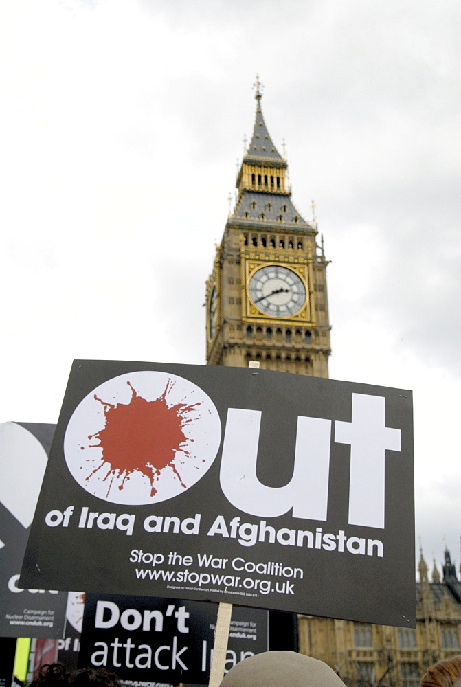 Uk rally against the war at the fifth anniversary of the invasion of iraq in london photo by julio etchart