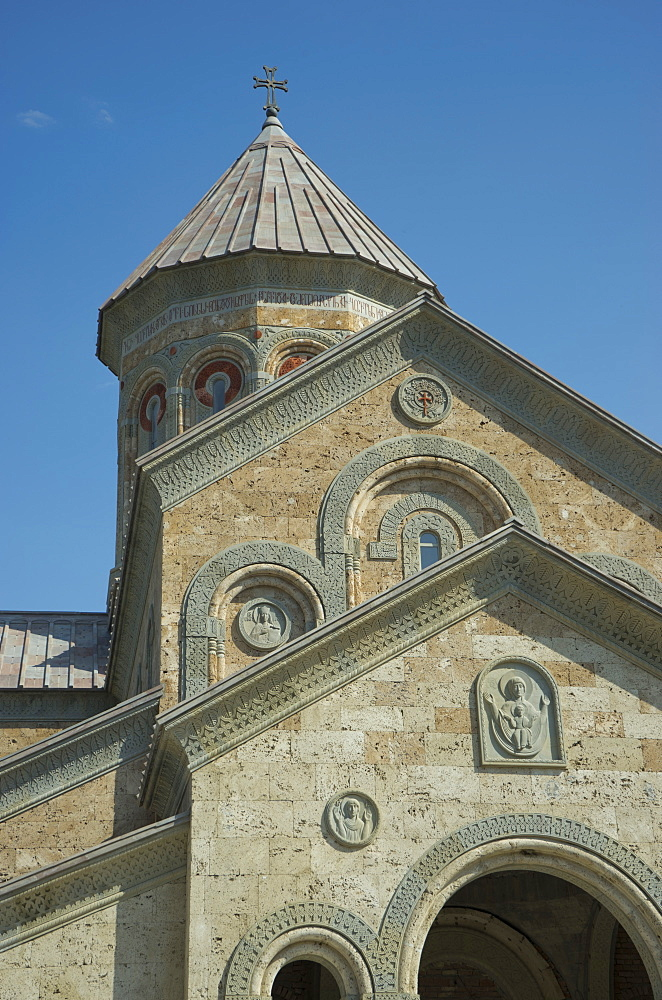 Bodbe Christian Orthodox monastery near Signagi,Georgia - 1188-939