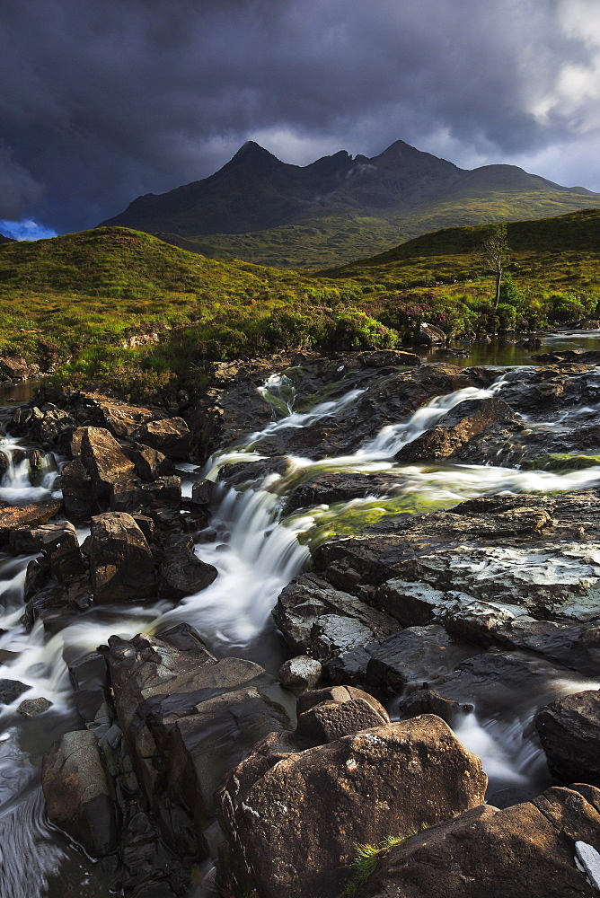 Cuillin Hills, Isle of Skye, Inner Hebrides, Scotland, United Kingdom, Europe - 1189-6