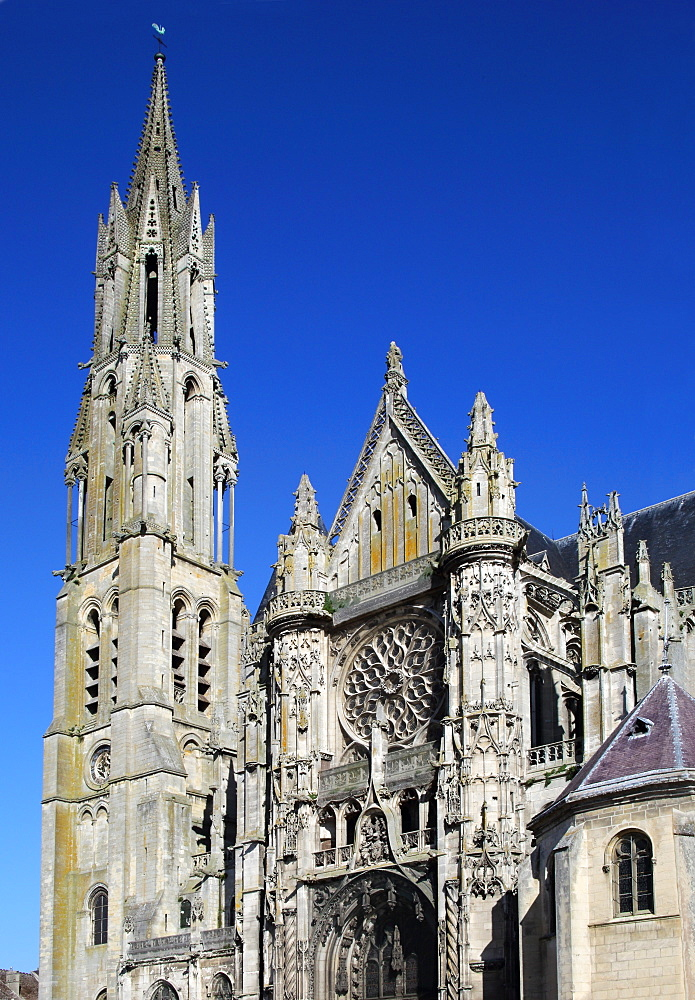 Senlis Cathedral, Notre-Dame de Senlis, Oise, Picardy, France, Europe - 1191-51