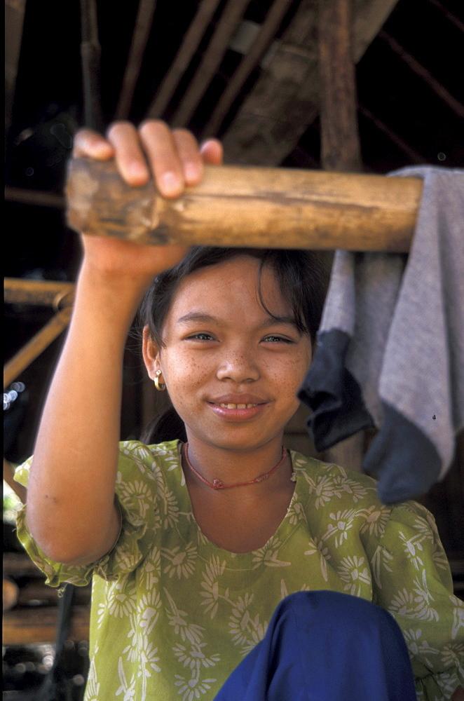 Thailand girl of mae la burmese refugee camp, mae sot