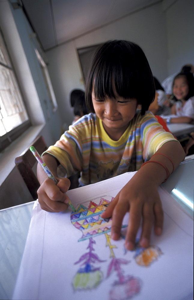 Thailand child development center for refugee children, chiang mai