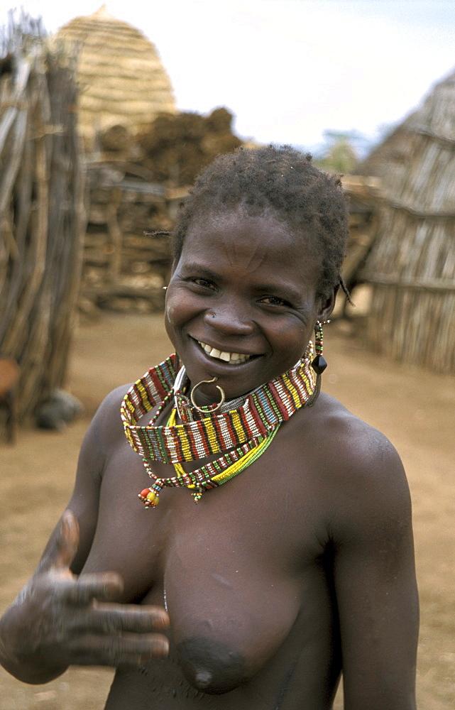 South sudan toposa village near narus