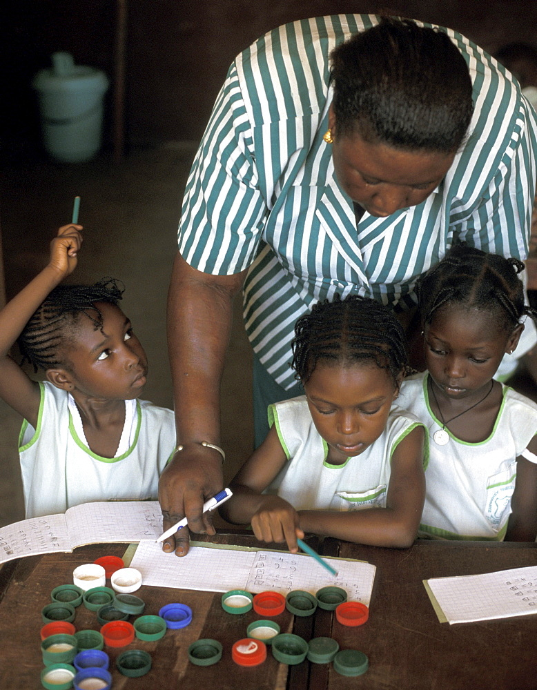 Gambia catholic school in banjul support catholic relief services