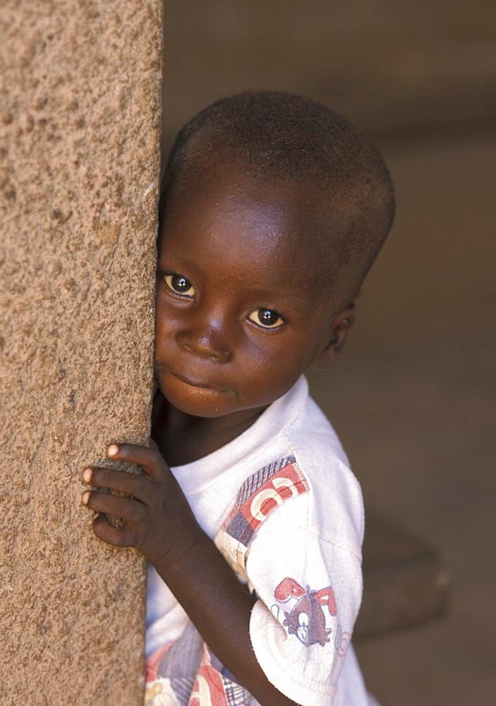 Burkina child of ouagadougou