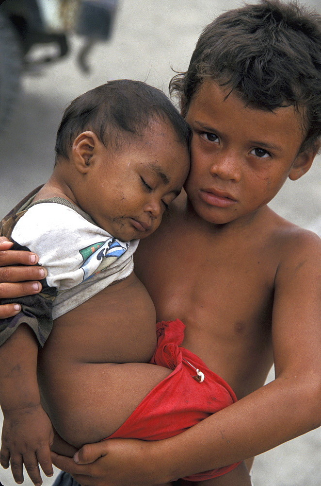 Honduras children of san pedro
