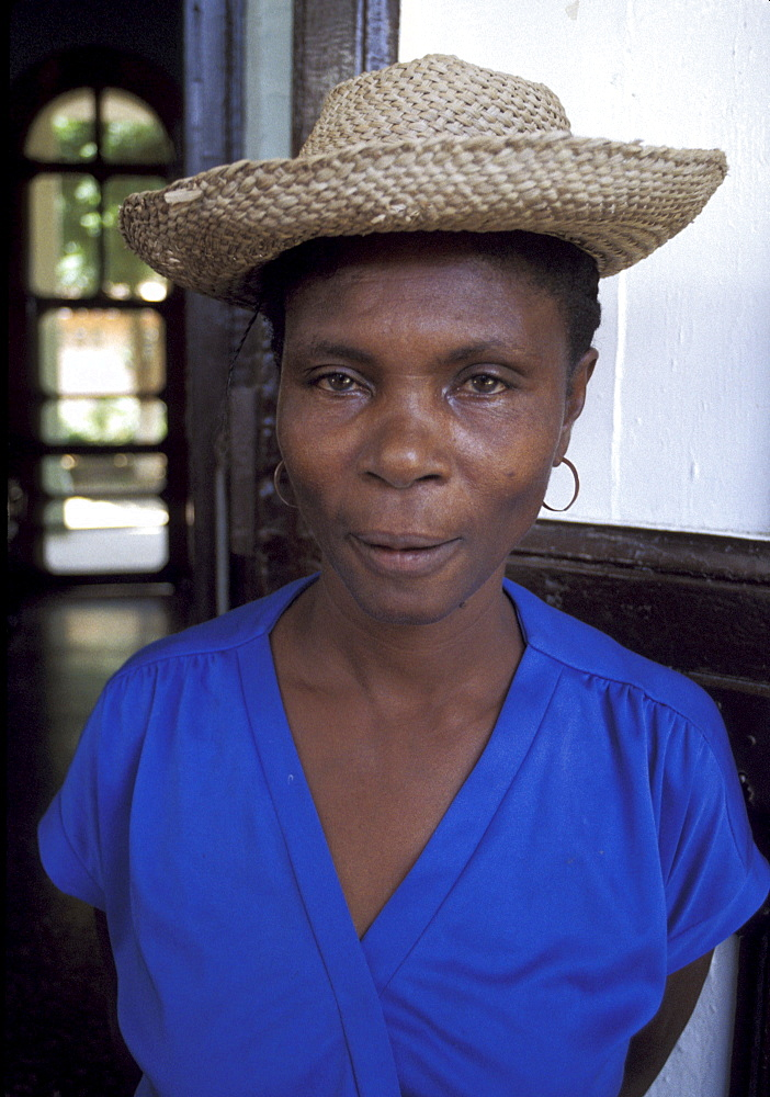 Haiti woman of jeremie.