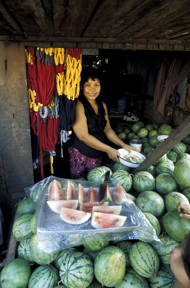 Cambodia sam samoun, 37, micro-credit borrower her weater melon, phnom. A project of the urban sector group, ngo.