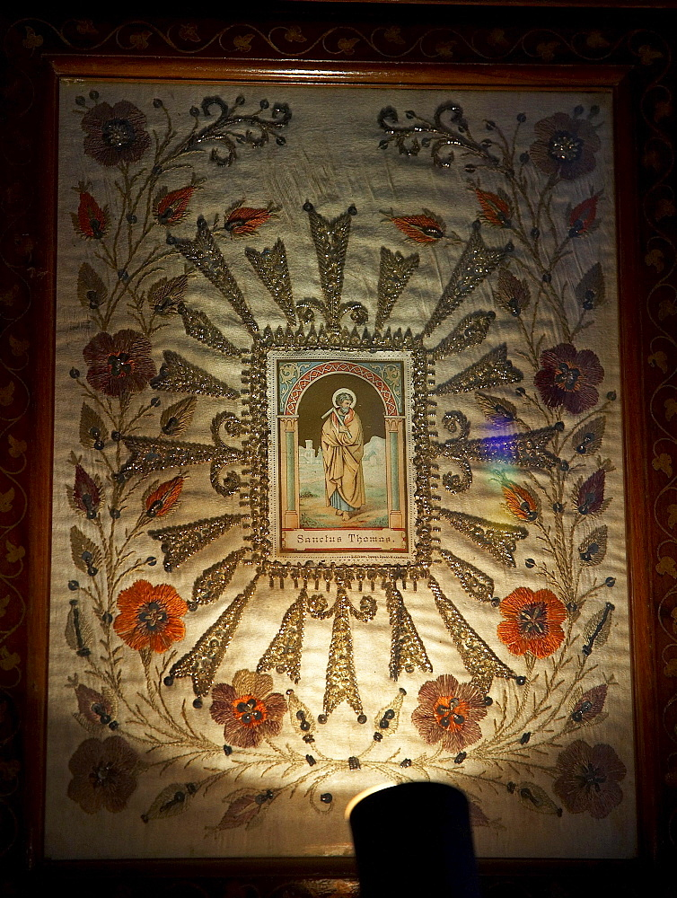 India. Kokkamamngalam syro-malabar catholic church, one of the 8 said to have been founded by saint thomas. The miraculous portrait of saint thomas. In the footsteps of saint thomas: visiting the eight churches founded by the apostle in kerala after he arrived in 52 ad