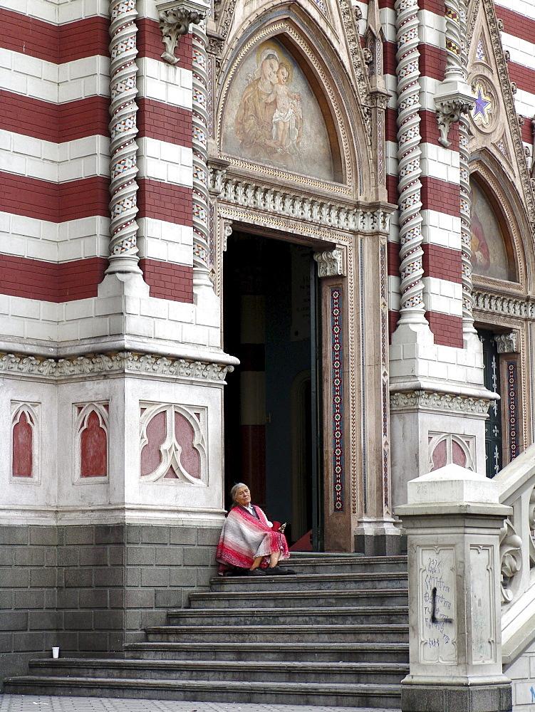 Colombia iglesia de la concepcion, la candelaria, bogota