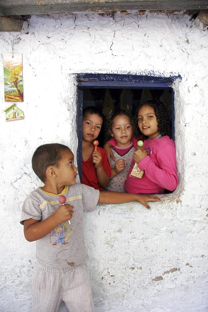 Venezuela children of buenavista, lara state