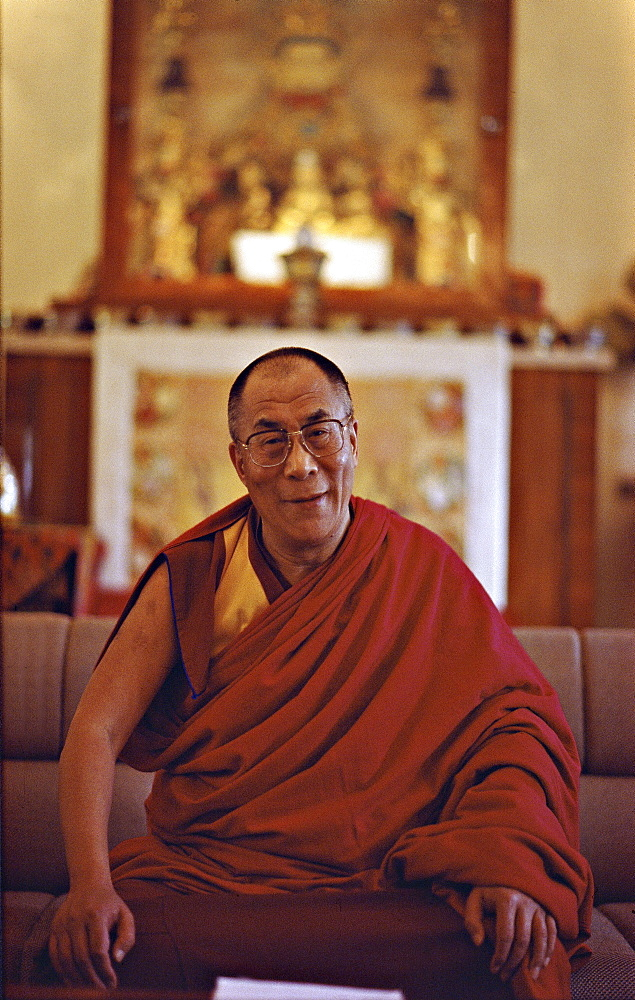 H.h. 14th dalai lama. In early days most of individual tantric systems were kept separate from another, each regarded as a path to enlightment. here again passage of time brought about fusion cross-fertilization, a tradition of uniting various tantras emerged, at least on a simple level a daily meditation. India