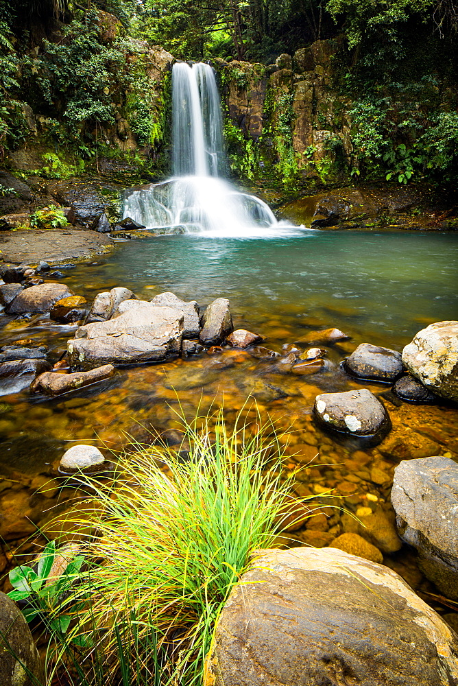 Waiau Falls, Coromandel Peninsula, North Island, New Zealand, Pacific