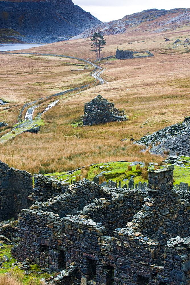 Cwmorthin Quarry, Gwynedd, north Wales, Wales, United Kingdom, Europe