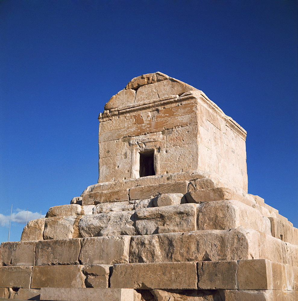 The Tomb of Cyrus the Great, Pasargadae, Iran, Middle East