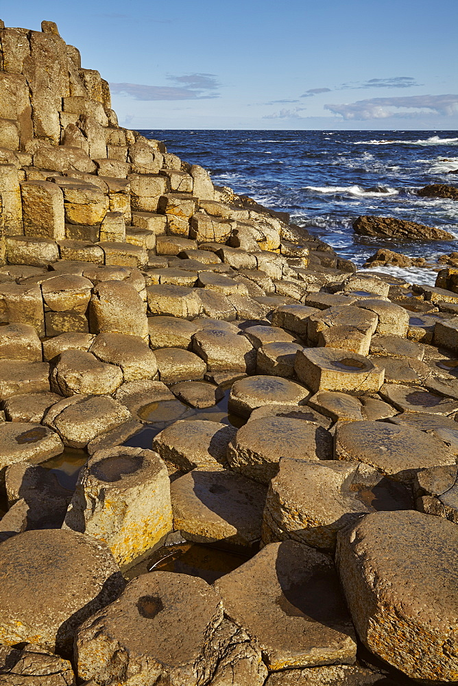Giant's Causeway, UNESCO World Heritage Site, County Antrim, Ulster, Northern Ireland, United Kingdom, Europe