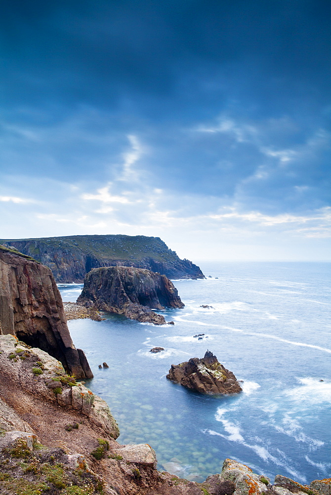 Land's End, Penzance, Cornwall, England, United Kingdom, Europe - 1207-23