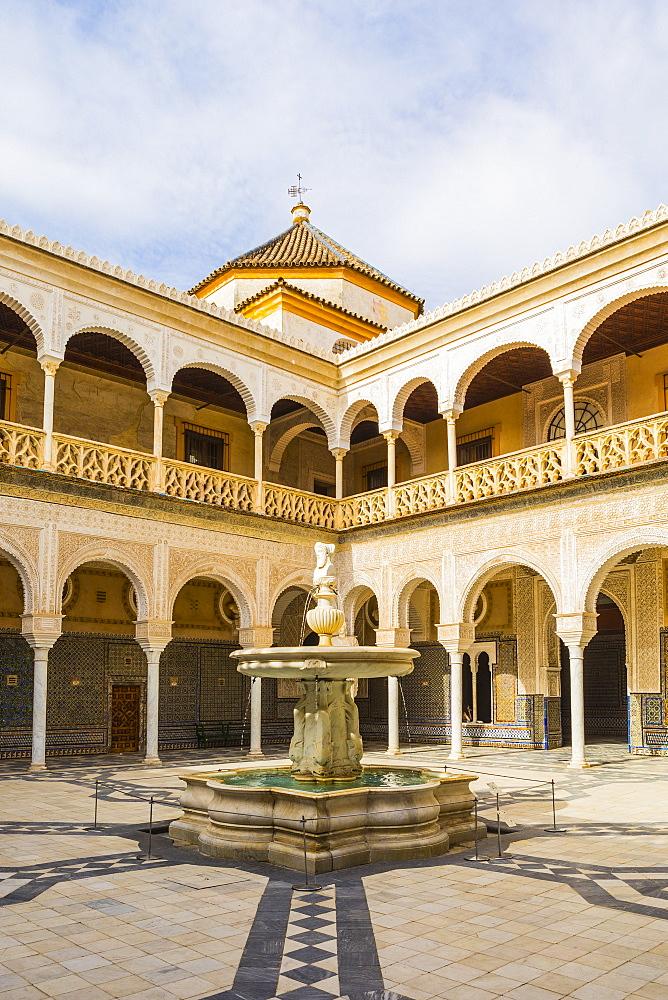 Casa de Pilatos (Pilate's Palace), Seville, Andalucia, Spain, Europe - 1207-245