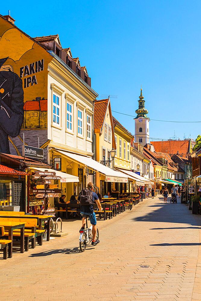 Tkalčićeva Street, Zagreb, Croatia, Europe - 1207-252