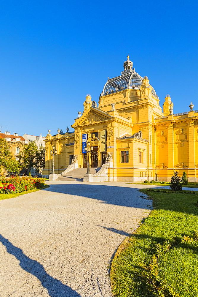 Art Pavilion, Zagreb, Croatia, Europe - 1207-265
