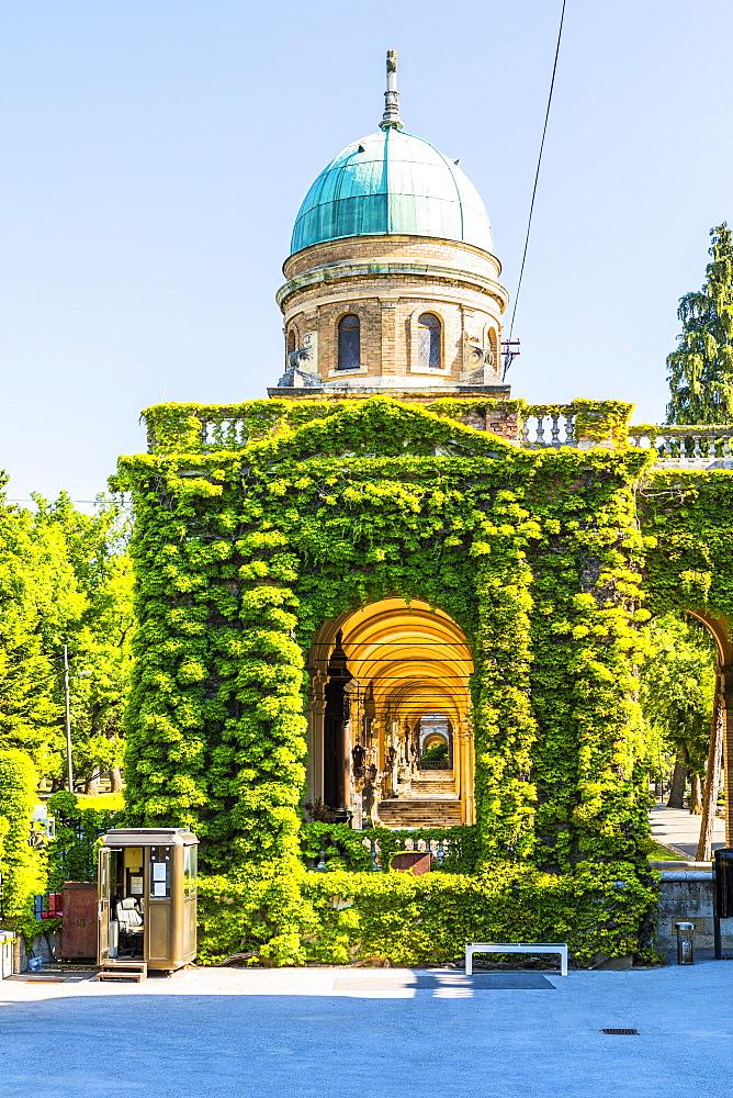 Mirogoj Cemetery, Zagreb, Croatia, Europe