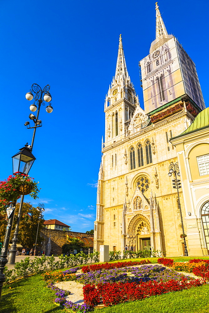 Cathedral of the Assumption Blessed Virgin Mary, Zagreb, Croatia, Europe - 1207-295