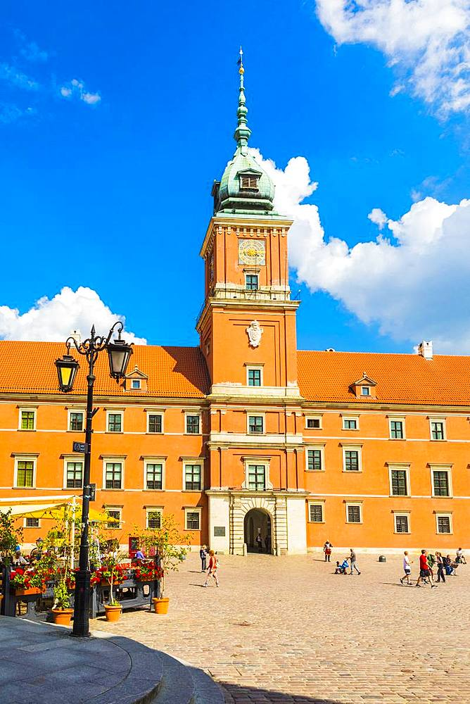 Royal Castle in Plac Zamkowy (Castle Square), Old Town, UNESCO World Heritage Site, Warsaw, Poland, Europe - 1207-338