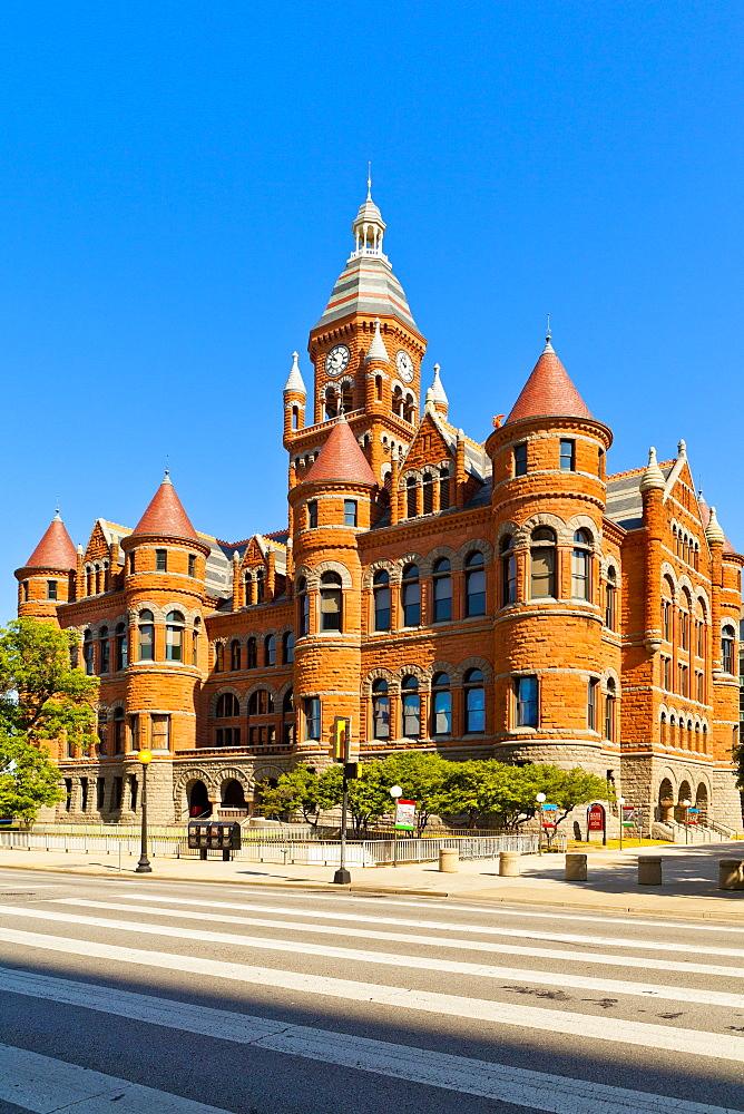 Old Red Museum of Dallas County History & Culture, Dallas, Texas, United States of America, North America - 1207-34