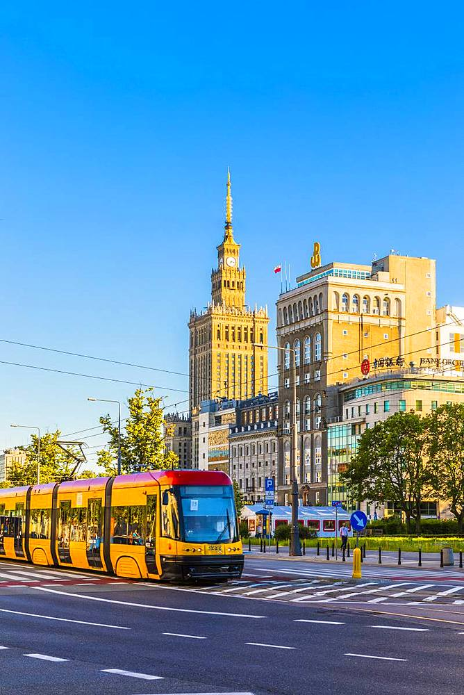 Palace of Culture and Science, City Centre, Warsaw, Poland, Europe - 1207-369