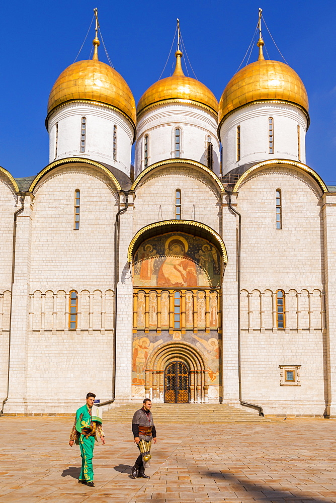 Church of the Twelve Apostles inside the Kremlin, UNESCO World Heritage Site, Moscow, Russia, Europe