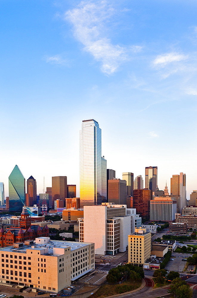Skyline, Dallas, Texas, United States of America, North America