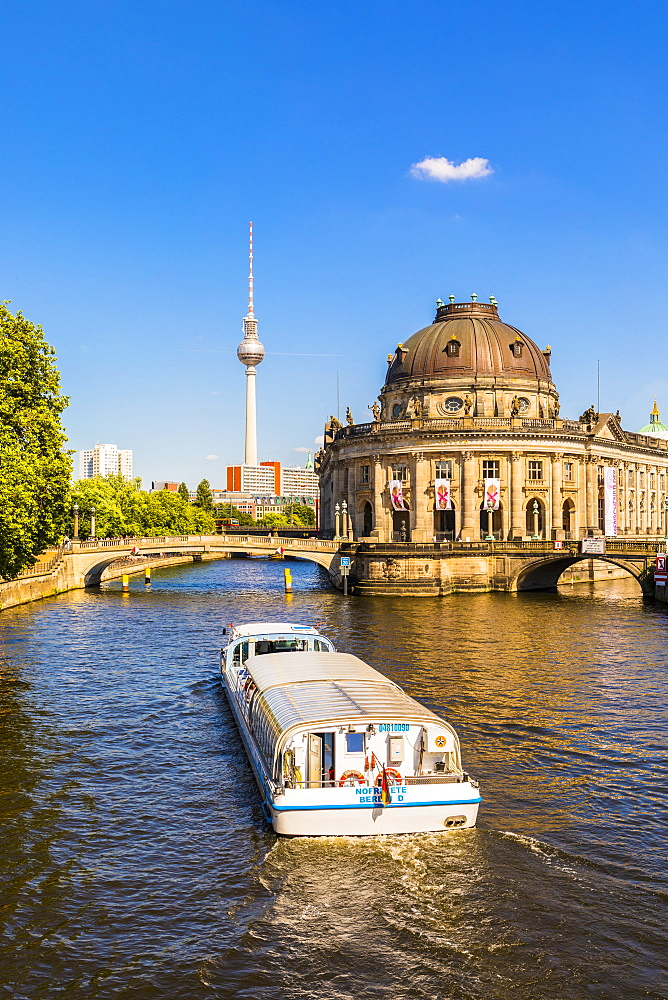 Bode Museum on the River Spree in Berlin, Germany, Europe - 1207-548
