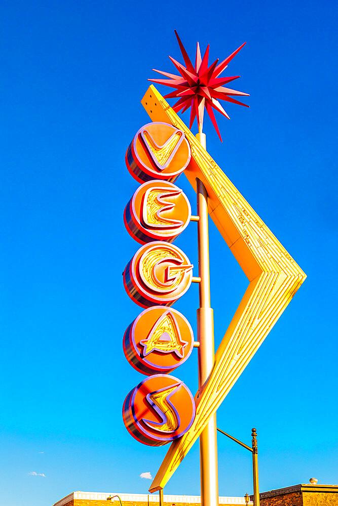 Downtown Las Vegas, Nevada, United States of America, North America - 1207-653