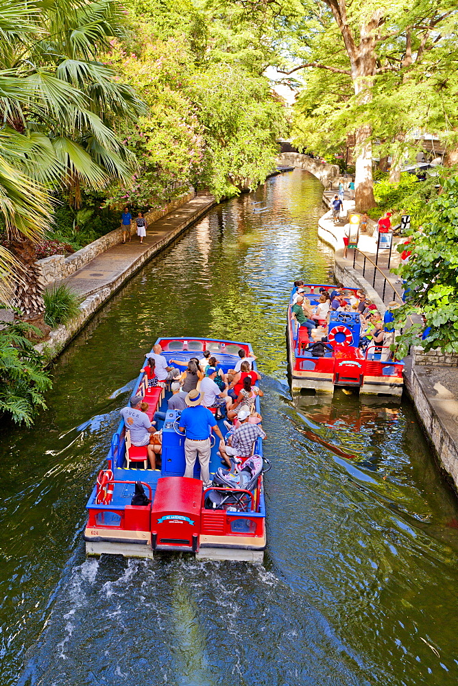 San Antonio River Walk, San Antonio, Texas, United States of America, North America - 1207-78