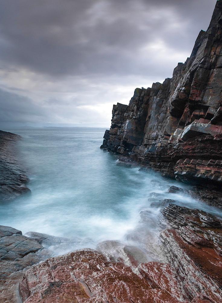 Bay of Stoer, Sutherland, Highland, Scotland, United Kingdom, Europe - 1209-24