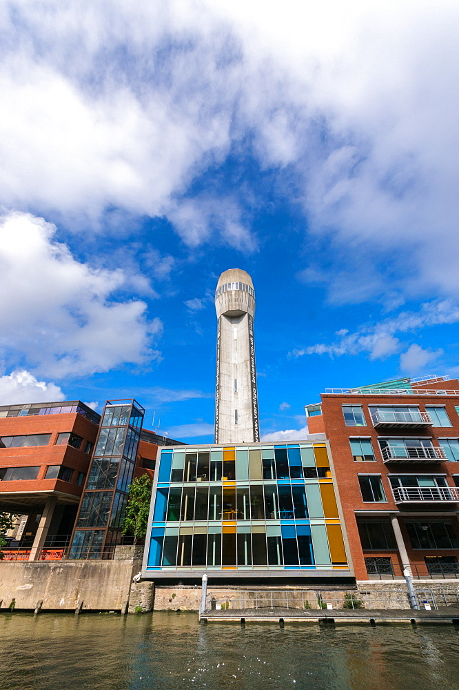 The Vertigo Building, formerly The Old Shot Tower, Bristol, England, United Kingdom, Europe