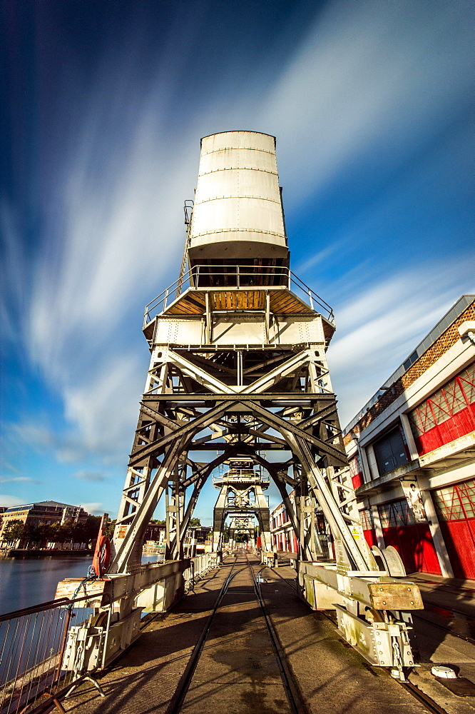 The Old Electric Cranes, Harbourside, Bristol, England, United Kingdom, Europe - 1209-48