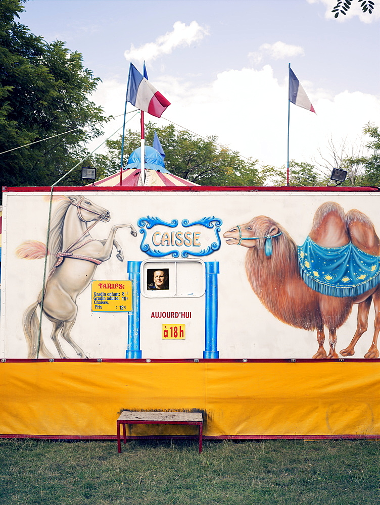 Box office, Family circus, France, Europe