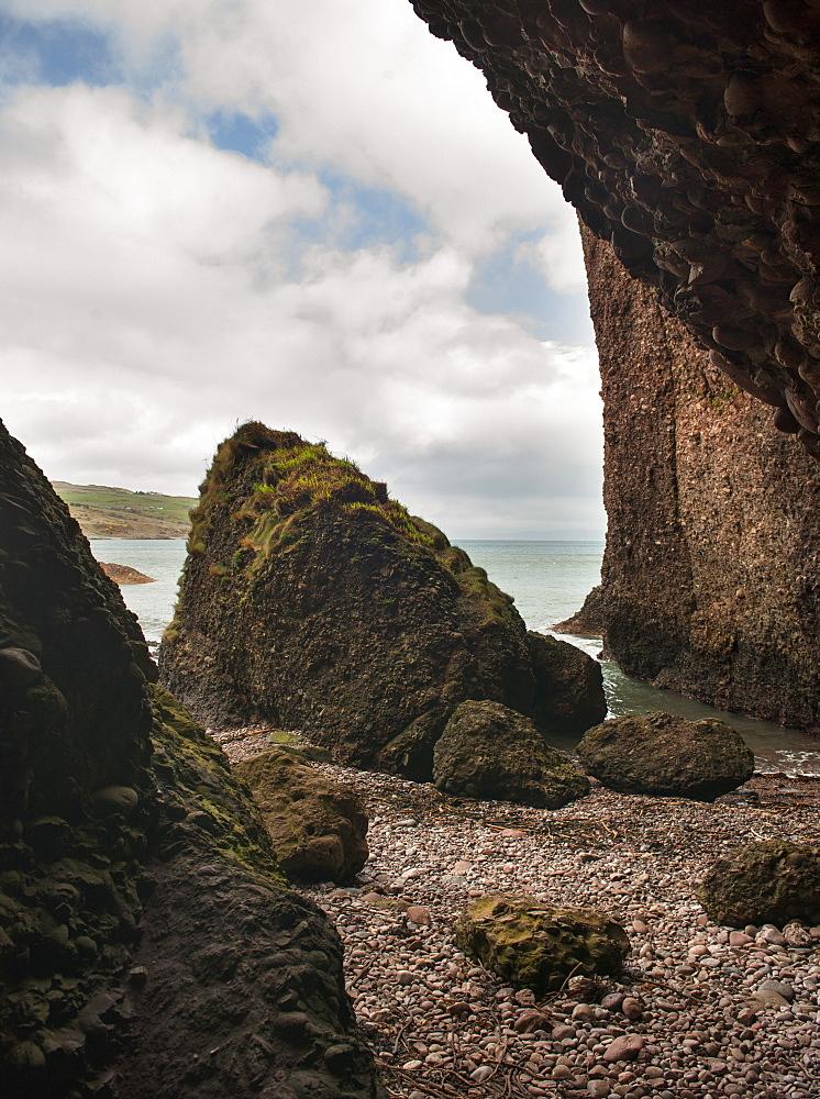 Cushendun, where some of the Game of Thrones was filmed, County Antrim, Northern Ireland, United Kingdom, Europe