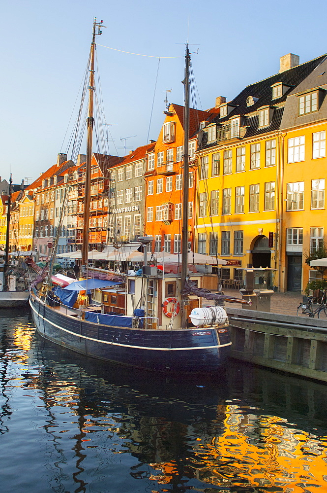 The old Merchant's Harbour, Copenhagen, Denmark, Europe - 1212-380