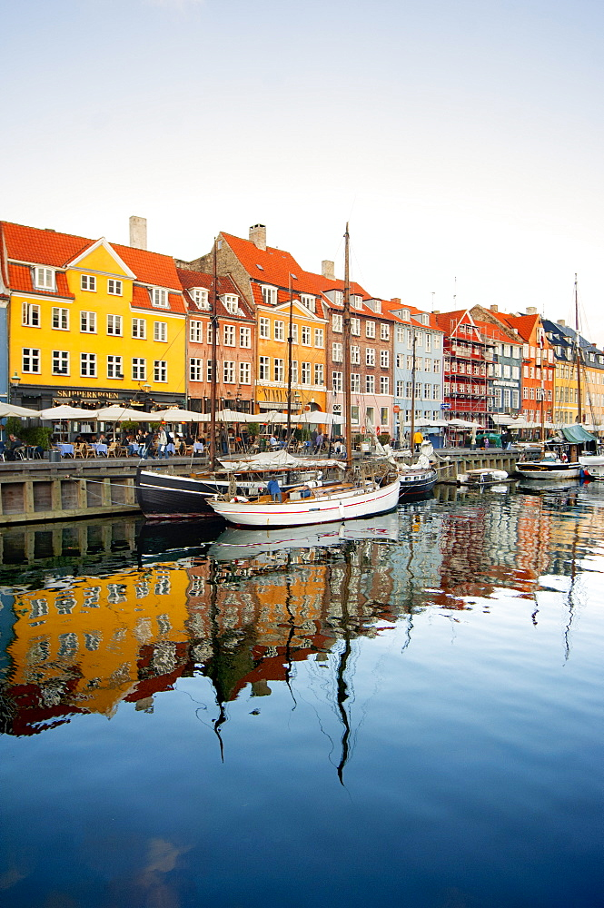 The old Merchant's Harbour, Copenhagen, Denmark, Europe - 1212-381