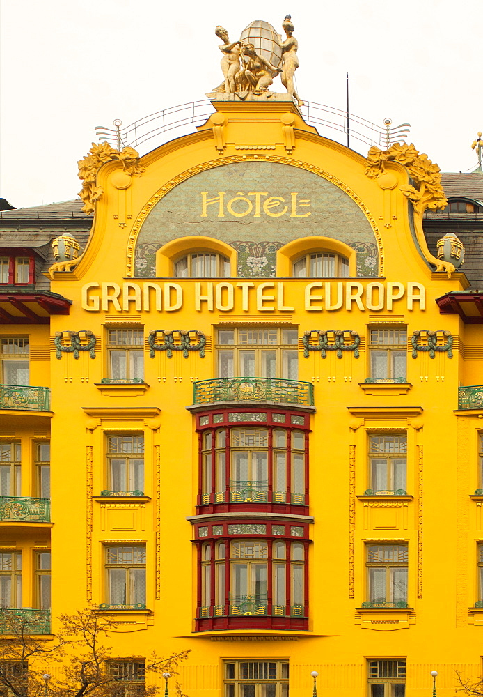 Grand Hotel Europa, Prague, Czech Republic, Europe