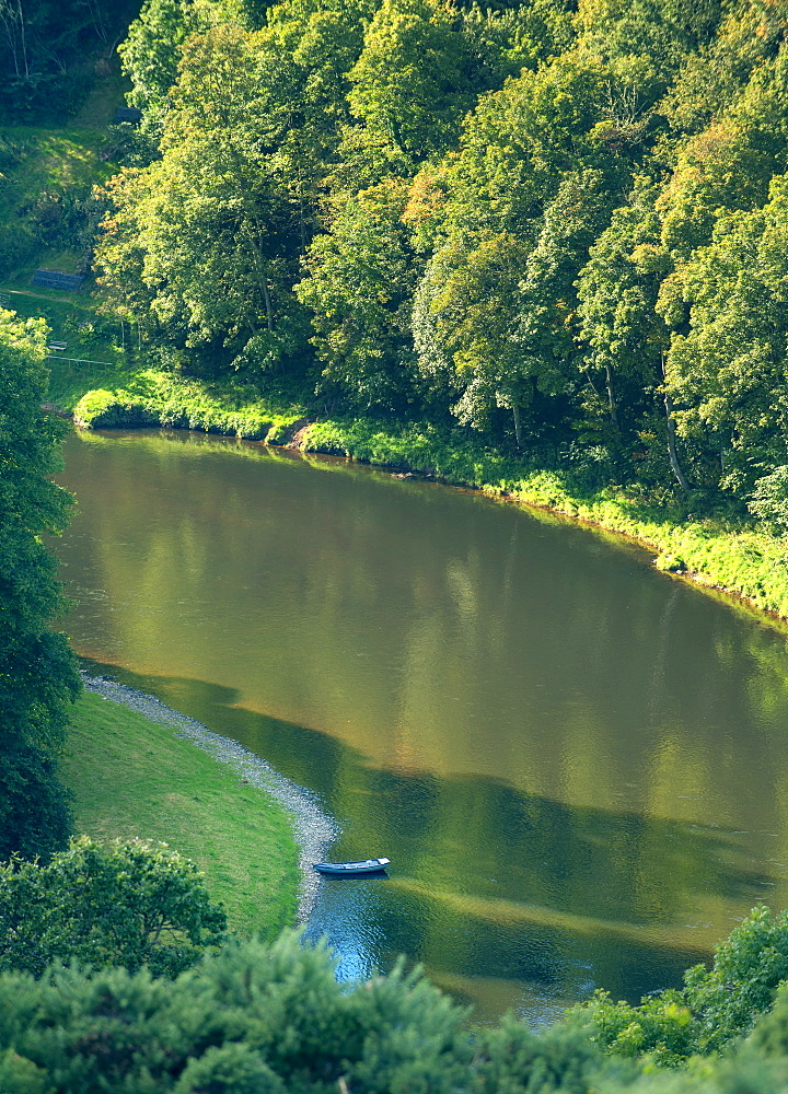 River Barrow near Graiguenamana, Republic of Ireland, Europe