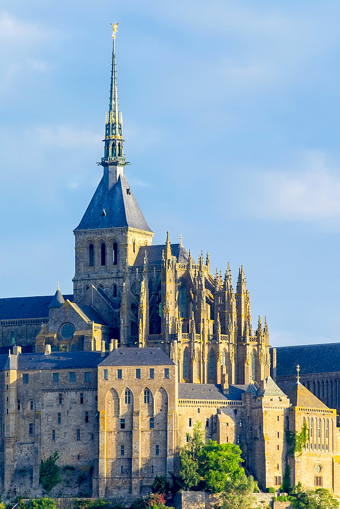 Le Mont-Saint-Miichel, UNESCO World Heritage Site, Manche Department, Normandy, France, Europe